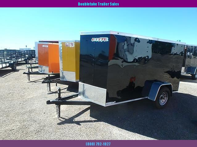 2018 Salvation Trailers 6X12SA Enclosed Cargo Trailer