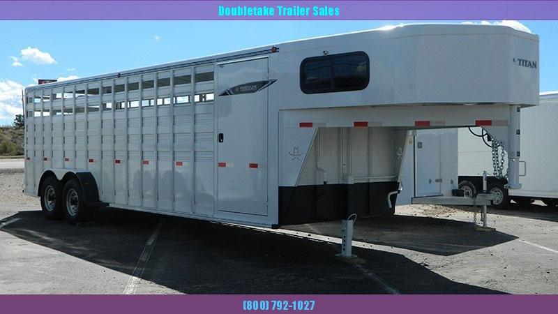 2020 Titan Trailers Stock/Combo Livestock Trailer