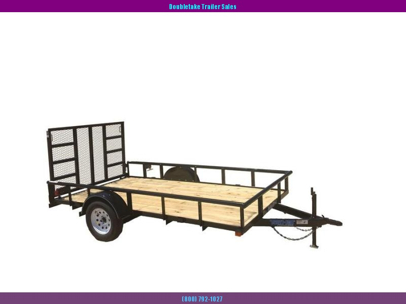 2018 Top Hat Trailers 10X60DSP Open Utility Trailer