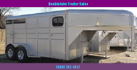 ENCLOSED Gooseneck 2 HORSE TRAILER