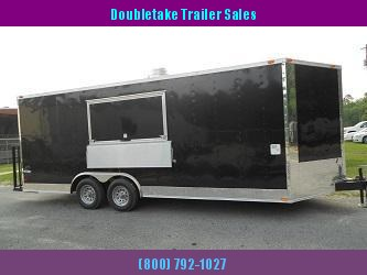 8.5 x 20 Concession Trailer