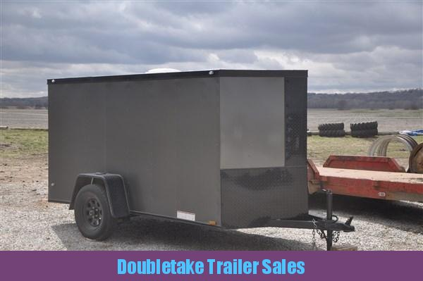 2018 Diamond Cargo 5 X 10 Enclosed Cargo Trailer