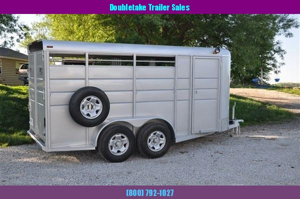Calico 3H BP Slant Load Horse Trailer