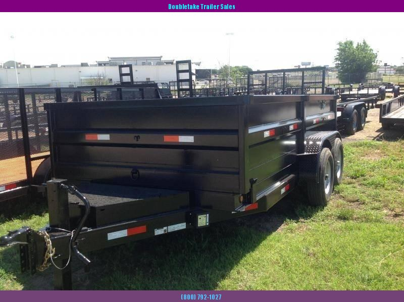 2019 Salvation Trailers S7X14TAD Open Dump Trailer