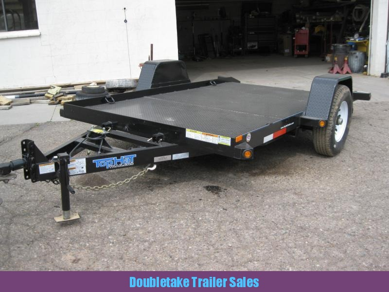 2018 Top Hat Trailers 12X80SAET Open Utility Trailer