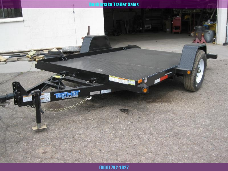 2019 Top Hat Trailers 12X80SAET Open Utility Trailer