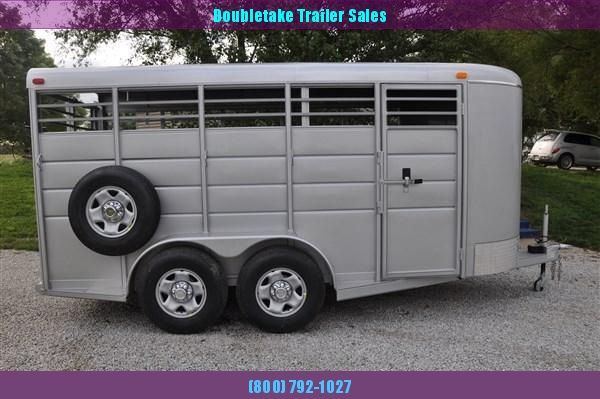 "Calico 6 x 6'6"" x 16 BP Livestock Trailer"