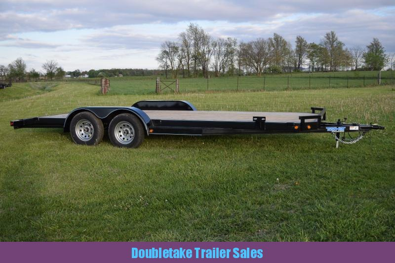 2018 Top Hat Trailers TH20X83DCH Open Car Hauler
