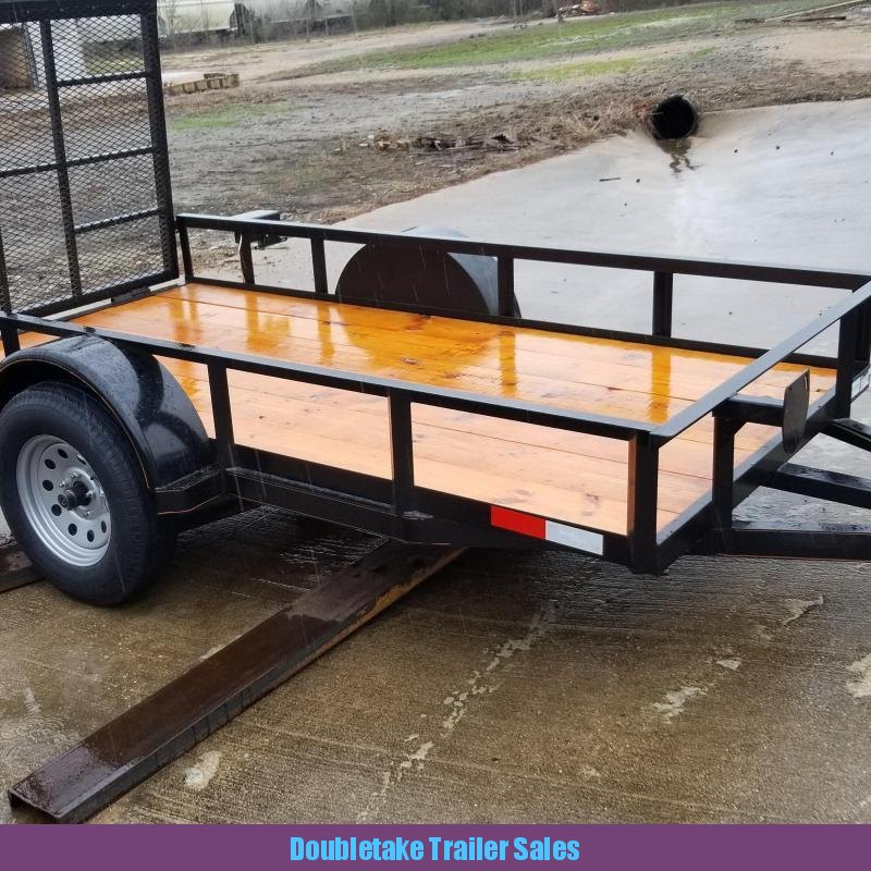 2019 Salvation Trailers 5X10UTL Open Utility Trailer