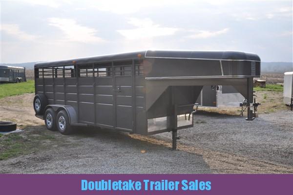 Calico 20' Gooseneck Livestock Trailer