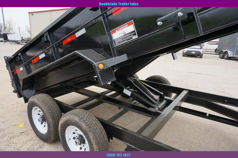 2018 Top Hat Trailers Open DP140 Dump Trailer