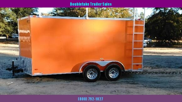7 x 16 Contractor Trailer