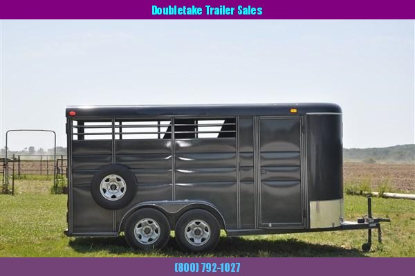 Calico 6 x 7 x 16 3H BP Slant Load Horse Trailer