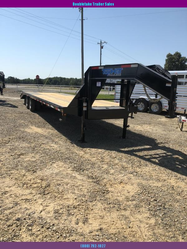 2019 Top Hat Trailers 275X102GN215 Open Equipment Trailer
