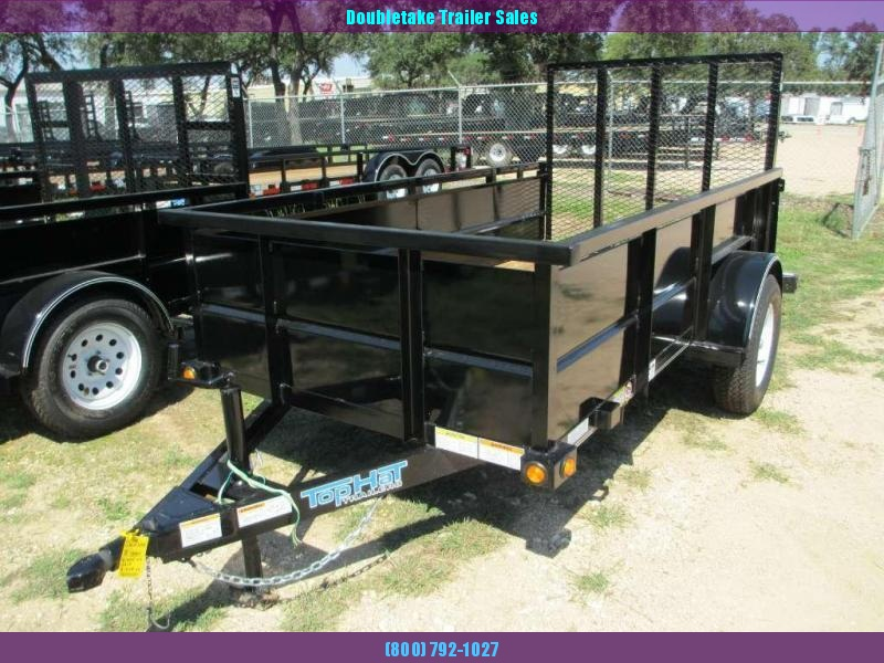 2018 Top Hat Trailers 5X10MRA Open Utility Trailer