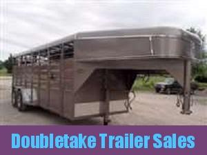 "Calico 6 x 6'6"" x 20 Gooseneck Livestock Trailer"
