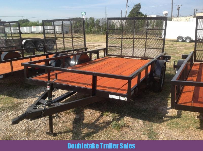 2019 Salvation Trailers 77X12SAU OPEN Utility Trailer