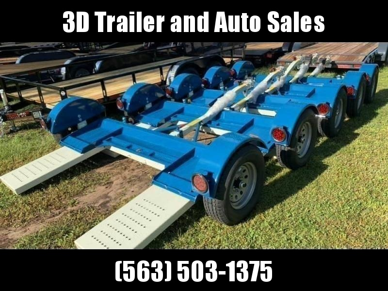 2020 Stehl Tow Dolly ST80TD HYDRAULIC SURGE DISC BRAKES / WIDE MODEL