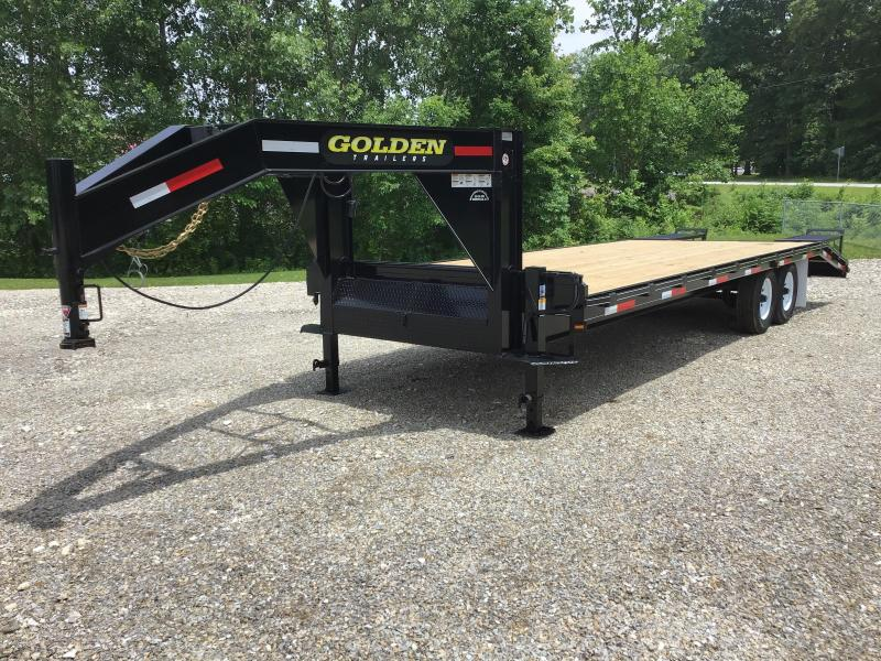 2020 Golden 20' + 5' 14K Flatbed Trailer