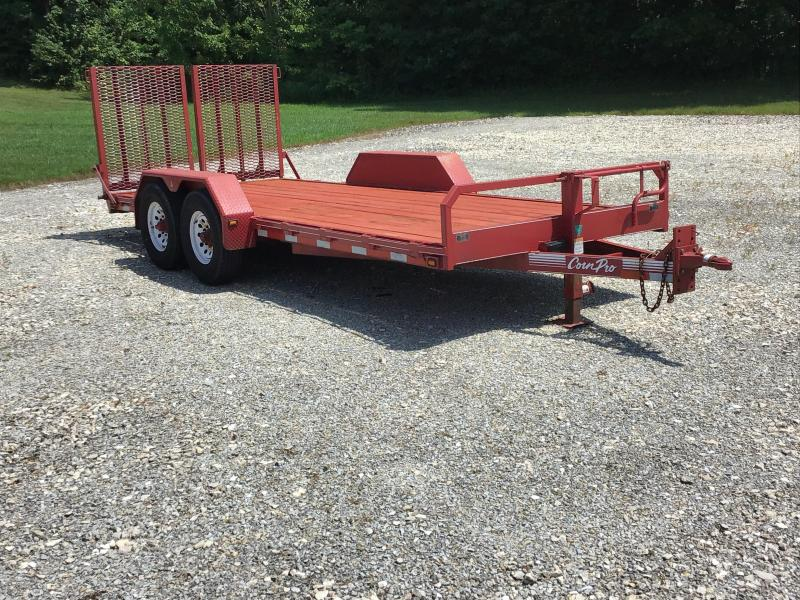 2004 CornPro Trailers UT-18H Equipment Trailer