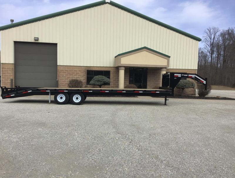 2019 Golden 25' + 5' 14K Flatbed Trailer