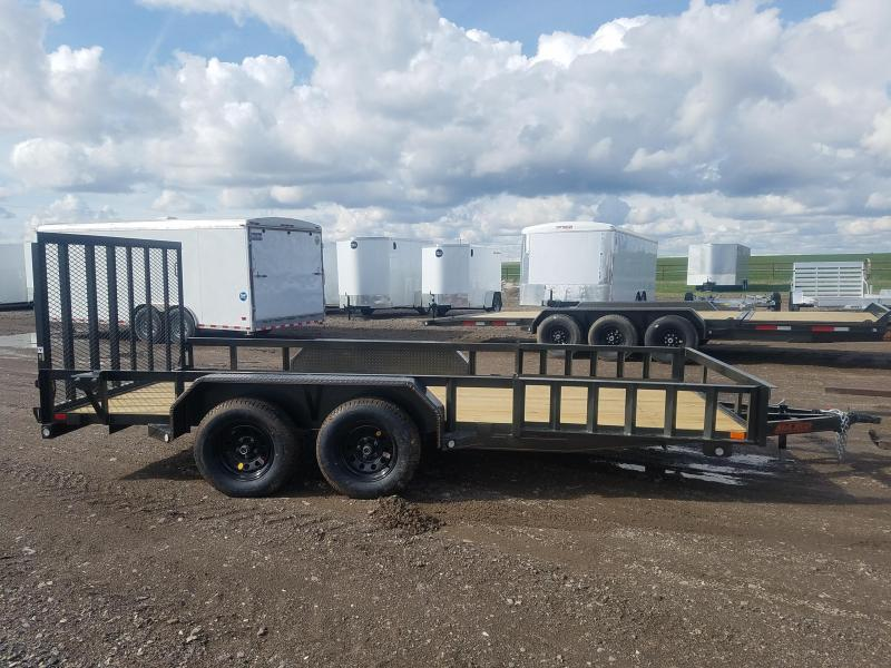2019 MAXXD 7x16' Side Load Utility Trailer