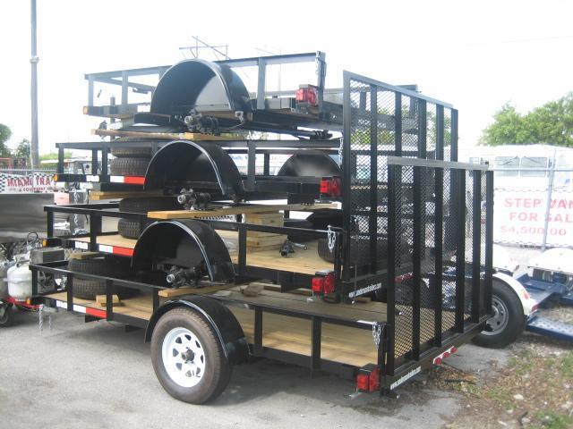 Anderson Manufacturing Landscape Utility Trailer