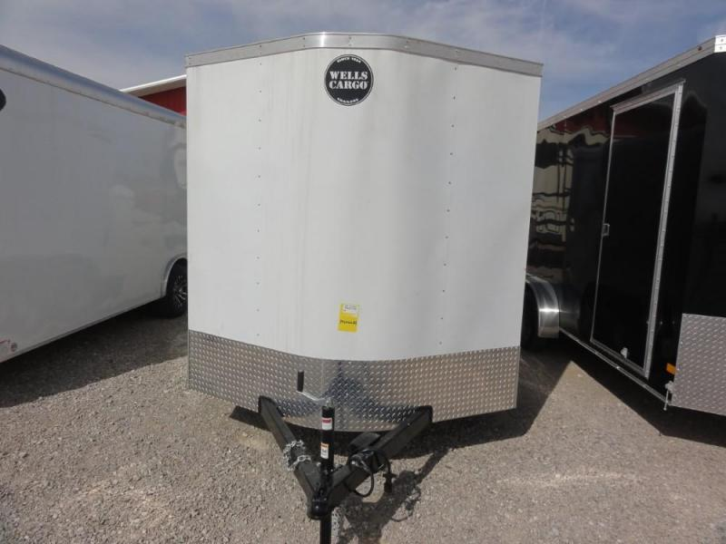 7 x 14 2019 Wells Cargo FAST-TRAC Enclosed Cargo Trailer