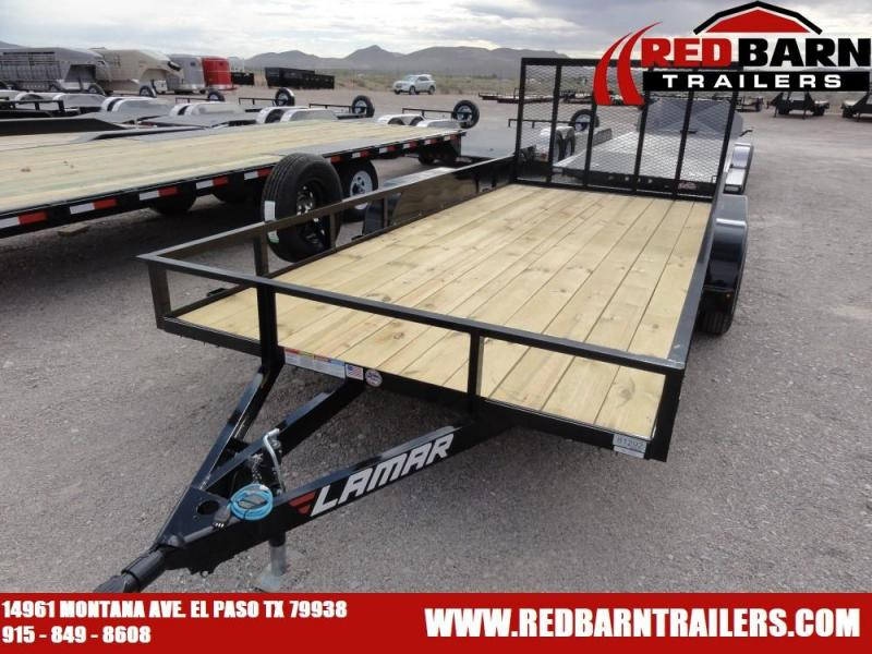 83 X 16 2019 Lamar Trailers UT83 Utility Trailer @RED BARN TRAILERS