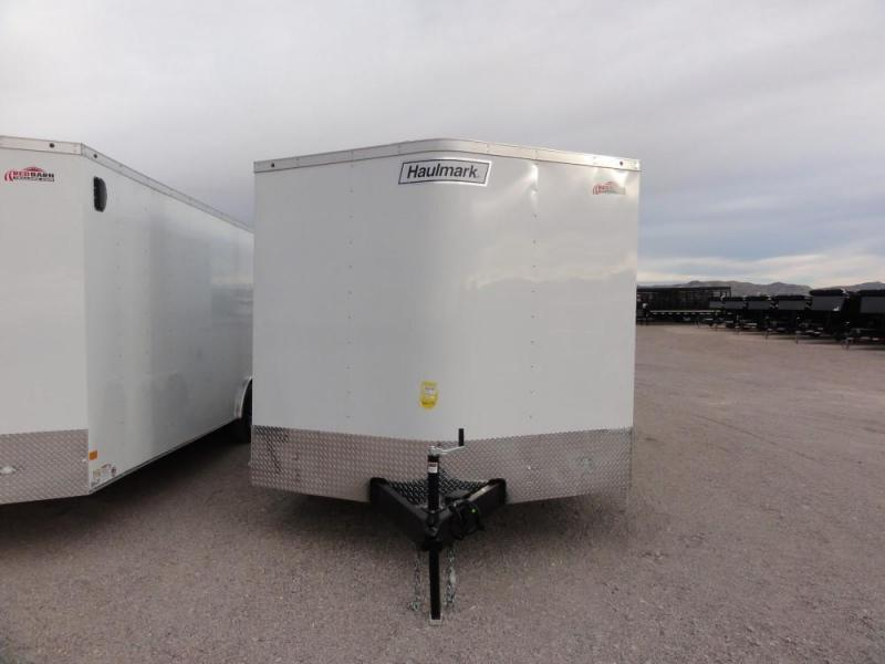 8.5 X 16 2019 Haulmark Passport 8.5 Wide Enclosed Cargo Trailer @RED BARN TRAILERS