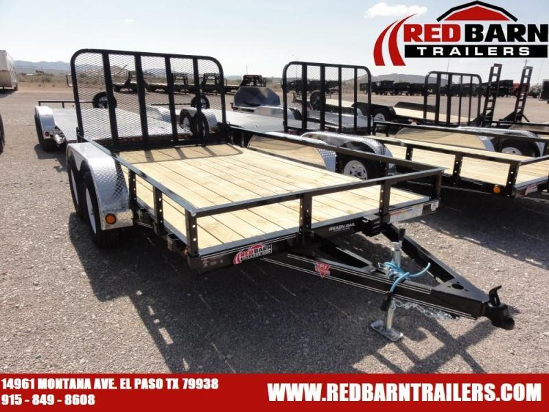 7X 12 2020 PJ Trailers UL122 Utility Trailer @RED BARN TRAILERS