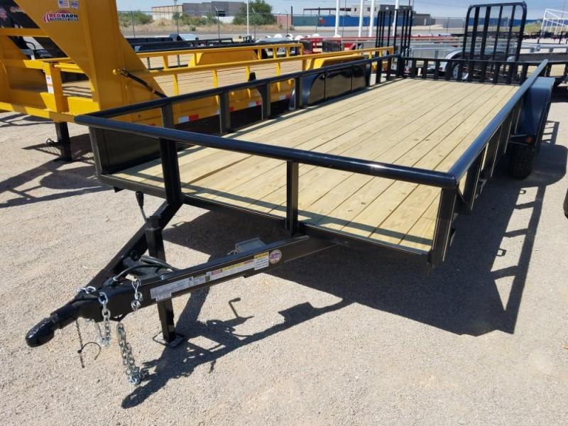 2018 7x20 GR Utility Trailer @ Red Barn Trailers