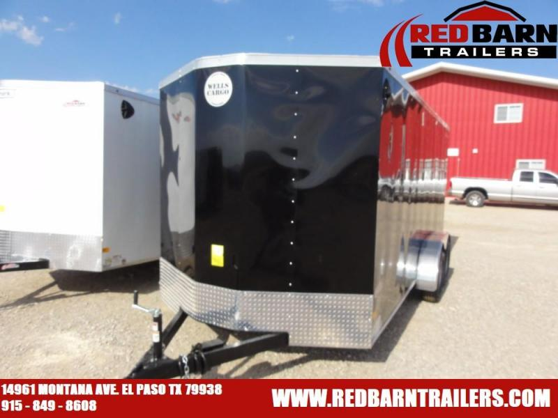 7x16 2019 WELLS CARGO  Enclosed Cargo Trailer @ Red Barn Trailers