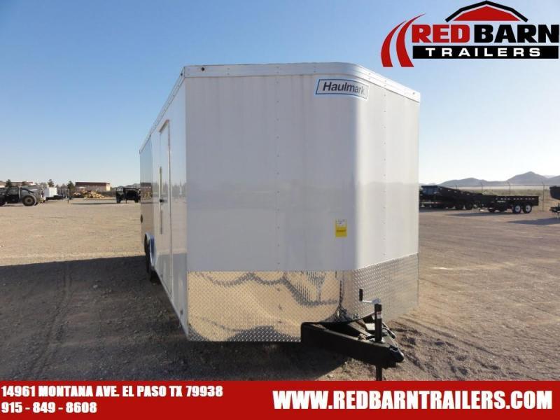 2019 Haulmark TSV8524T3 Enclosed Cargo Trailer @RED BARN TRAILERS