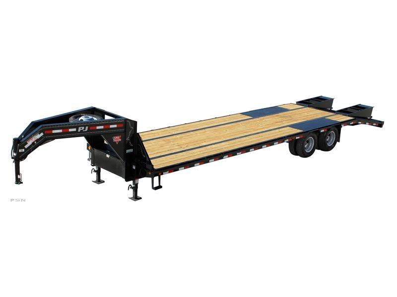 2019 8.5X30 PJ Trailers Low-Pro Flatdeck with Duals (LD) Flatbed Trailer @RedBarnTrailers