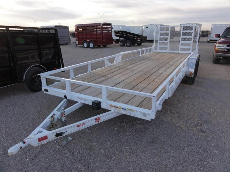 83 X 22 2019 PJ Trailers UL222 Utility Trailer @RED BARN TRAILERS