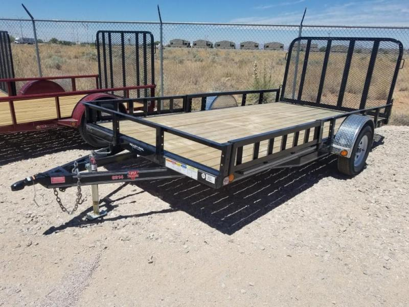 83 X 14 ATV SIDE RAMPS UTILITY @ Red Barn Trailers