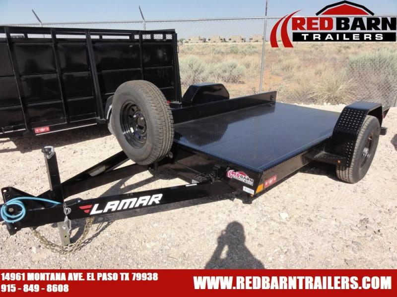 79 X 12 2019 Lamar Trailers SH79 Equipment Trailer @RED BARN TRAILERS