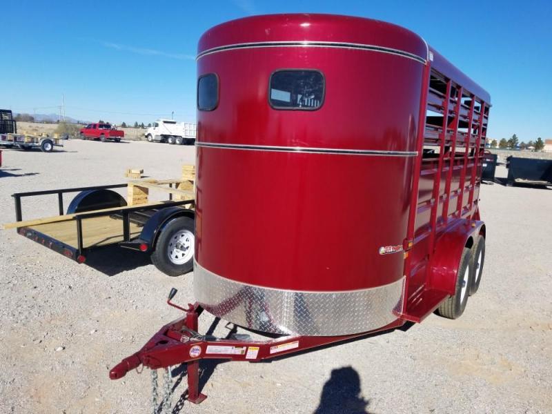 6' x 14 2019 GR Trailers ST6816W10LR Livestock Trailer @RedBarnTrailers
