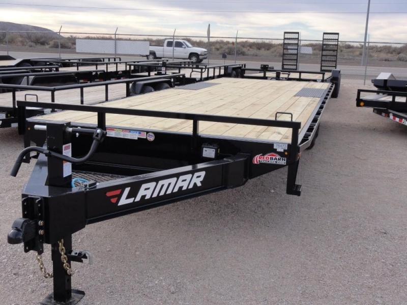 102 x 24 2019 Lamar Trailers Medium Duty Deck-Over (F8) 14K-21K Equipment Trailer