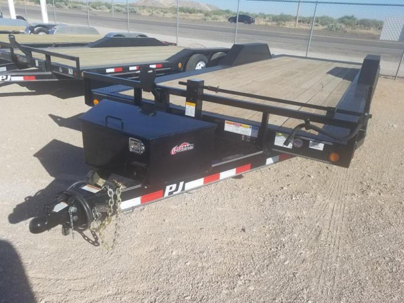2018 PJ Trailers B6242 102 X 24' Buggy Hauler @ Red Barn Trailers