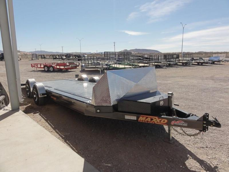80 x 24 2019 MAXXD A6X 10K DROP-N-LOAD CAR TRAILER Car / Racing Trailer @Red Barn Trailers