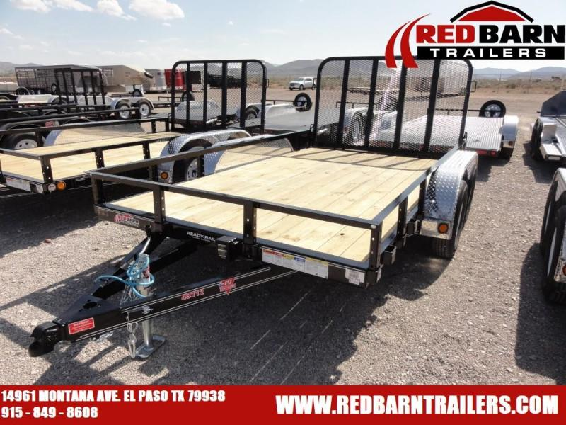 2020 PJ Trailers UL122 Utility Trailer @RED BARN TRAILERS