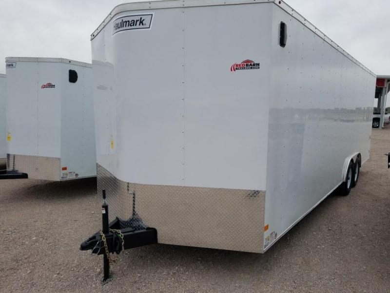2019 Haulmark 8.5X24 PP8524T2 Enclosed Cargo Trailer @RedBarnTrailers