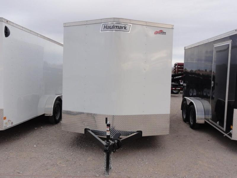 7 X 14 2019 Haulmark Passport Enclosed Cargo Trailer @RED BARN TRAILERS