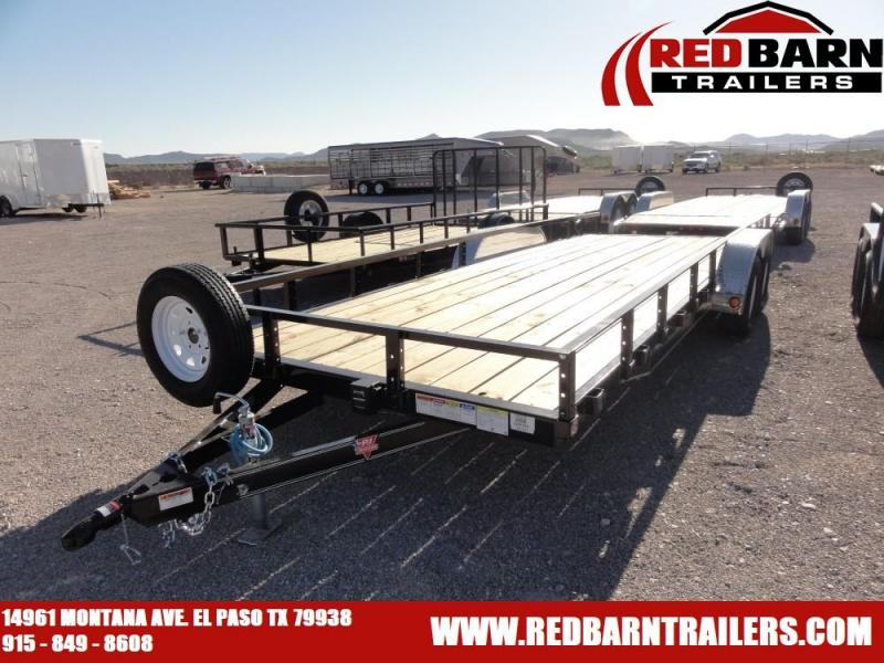 83 X 22 2020 PJ CARHAULER @RED BARN TRAILERS