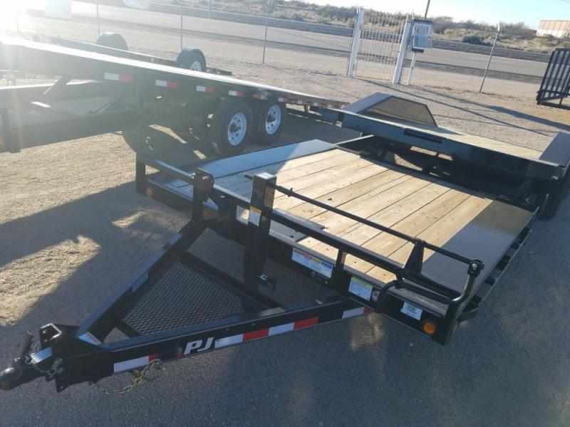 2019 PJ Trailers TS242 Equipment Trailer @RedBarnTrailers