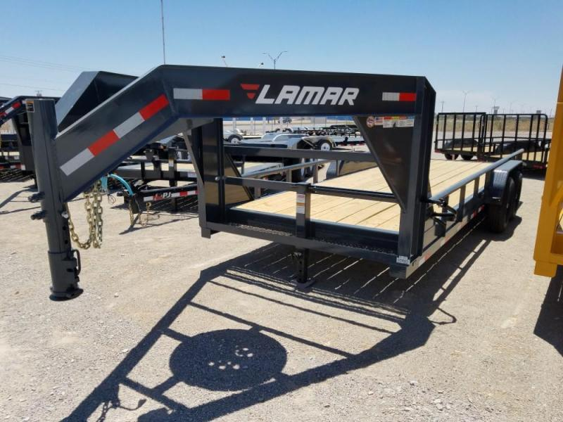 "GOOSENECK 83"" X 20' Extreme Duty Utility Trailer (U6) @ Red Barn Trailers"