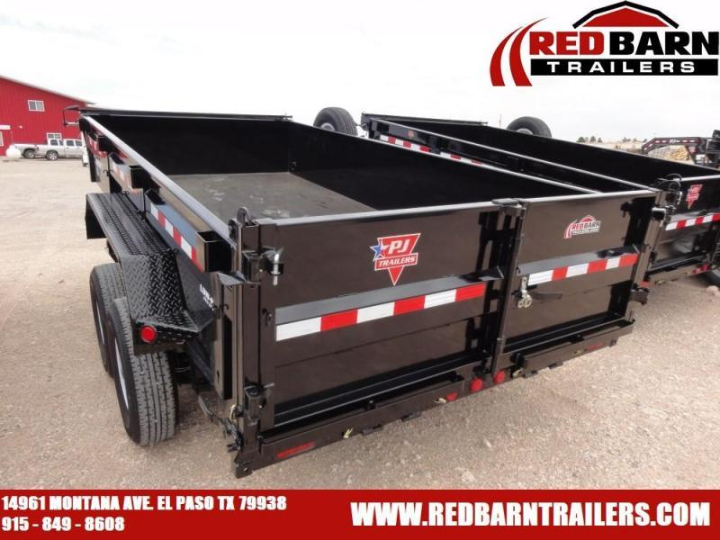7 x 14 2020 PJ Trailers DL142 Dump Trailer @RED BARN TRAILERS