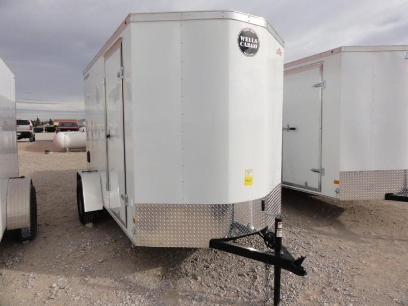 6 X 10 2019 Wells Cargo FastTrac Enclosed Cargo Trailer @RED BARN TRAILERS